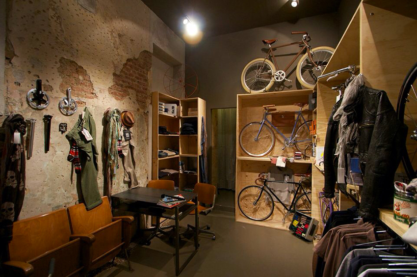 13 best bicycle shops in the world for Negozi industrial
