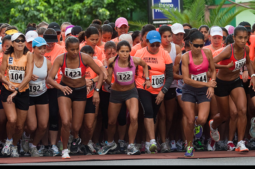 Nike Women's 5 km race in Caracas