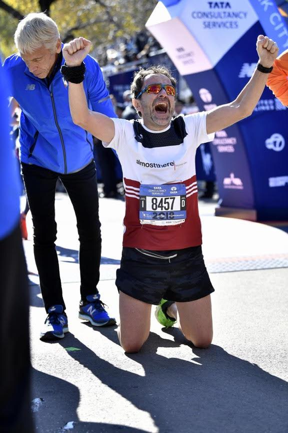Emanuele alla NYC Marathon 2018